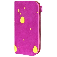BOOKY SPLOSH LEATHER pink
