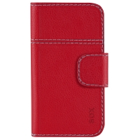 SOX Smart Booklet PU red